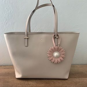 Kate spade ♠️ taupe large tote